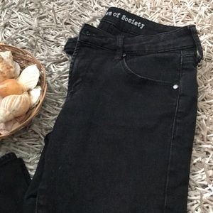 Articles Of Society Jeans - Articles of Society Black Skinnies Size 25